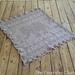 Filet Elephant Blanket pattern