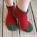 Holly Jolly Christmas Socks pattern