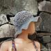 Falling Fans Sun Hat (Adult) pattern
