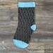 Textured Spike Stocking pattern