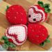 Strawberry Hearts pattern