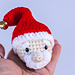 Santa Cube Ornament pattern