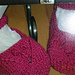 Lace and Bobble Booties pattern