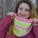 Bubble Hearts Cowl pattern