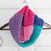 Berry Cakes Infinity Scarf pattern