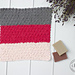 Nubby Scrubby Color Block Washcloth pattern