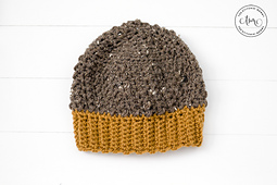 Coffee Bean Hat by The Stitchin' Mommy