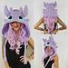 Luna Rae Dragon Hood pattern