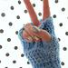 Tunisian Fingerless Gloves pattern