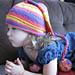 Misha Stripy Sherbet Hat pattern