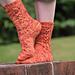 Knotty Socks pattern