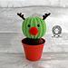 Randy the Cactus Reindeer pattern