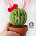 Penny the Bunny Cactus pattern