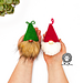 Gnome Christmas Tree Ornaments pattern