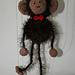 Monkey Puppet Marionette pattern