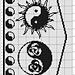 Ying-Yang-Tuch pattern