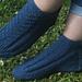 Porthleven Trainer Socks pattern