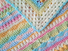 The Allsorts Blanket by Tina's Allsorts Designs