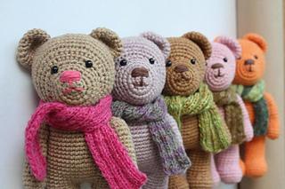 Crochet bear amigurumi pattern | Amiguroom Toys | 213x320