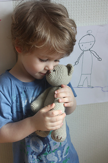 everyone should have a teddy bear, handmade the best one by far.