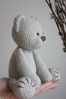 Teddy Bear Sleeper - Amigurumi - Free Crochet Pattern | 320x214