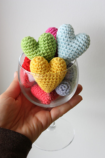 Amigurumi Heart Pattern   Crochet heart pattern, Free heart ...   320x213