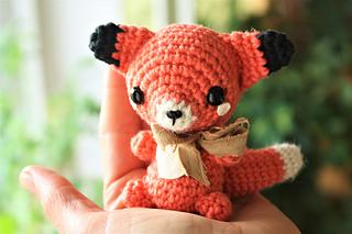 Chibi Fox Amigurumi