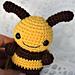 Crochet Baby Bee pattern
