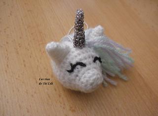 Samyelinin Örgüleri: Unicorn Keychain (Free English Pattern) | 236x320