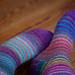 Magic Zauberball Stripe Socks pattern