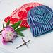 Brioche Loves Garter Stitch Hat pattern