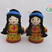 Amigurumi Native American Indian Doll pattern