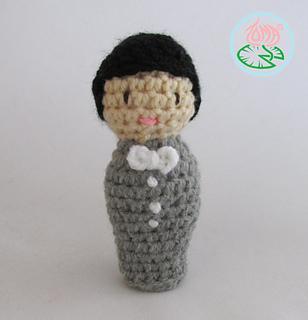 Best Wedding Amigurumi - Crochet 365 Knit Too | 320x308