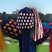 Golf Club Cover ~ Rib Mosaic pattern