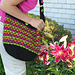 Lotus Flower Slouchy Bag pattern