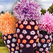Golf Club Cover - Flowers of Color pattern