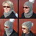 Braided Cable Hood Balaclava pattern