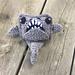 Great White Shark Mini Cuddler pattern