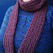 Very Simple Skinny Rib Scarf pattern