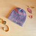 Loom Knit Twisted Fall Hat pattern