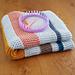 Garter Stitch Striped Blanket pattern