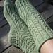 Spindle Socks pattern