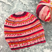 Child's Self-striping Hat pattern