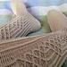 Vihreäkulta- sukat pattern