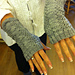 Feather and Fan Fingerless Mitts pattern