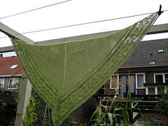 Triangular shawl from Onundarfjordur