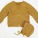 Cardigan og hue pattern