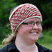 Two-tone Lovikka headband pattern