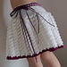 Skirt with Ribbon Detail at Waistband pattern