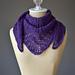Hyacinth Shawlette pattern